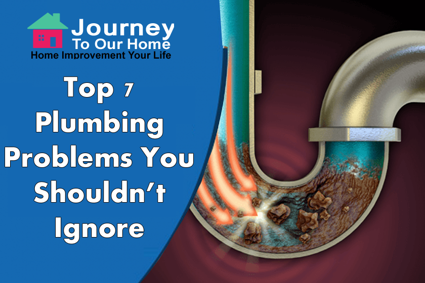 Top 7 Plumbing Problems You Shouldn't Ignore